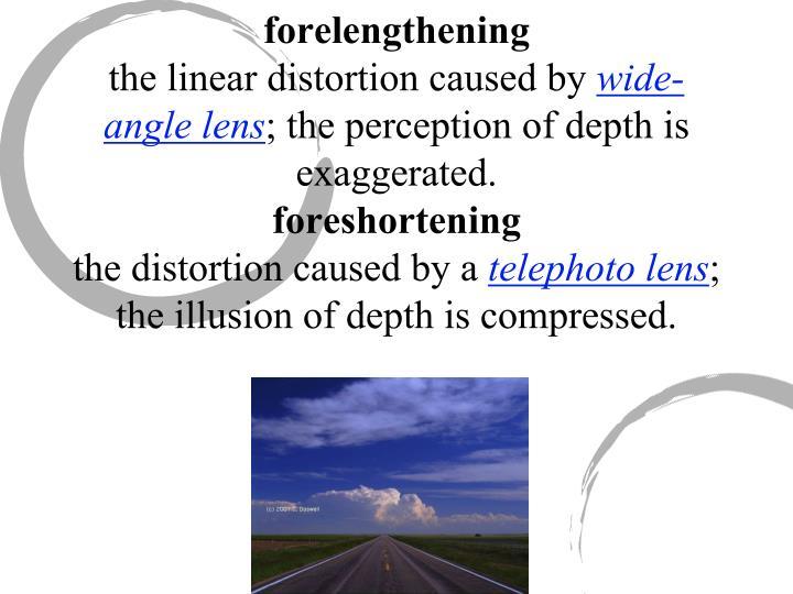 forelengthening