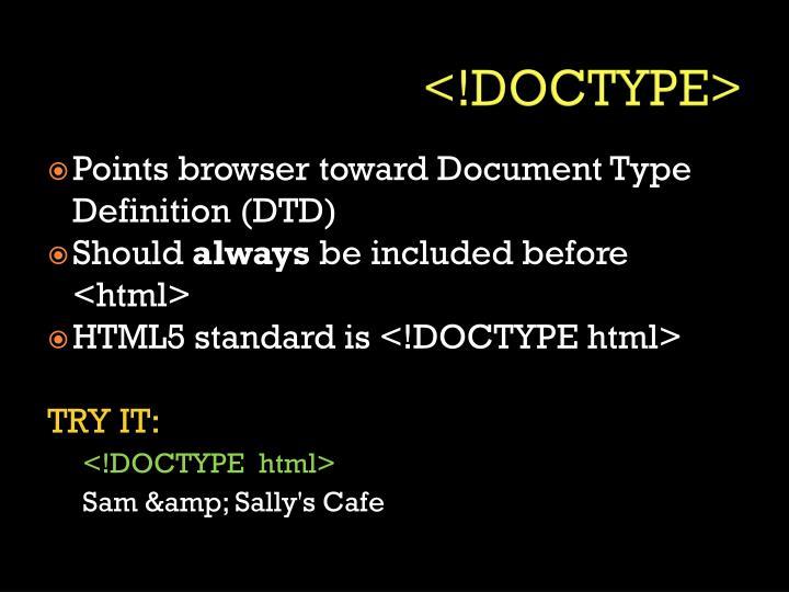 <!DOCTYPE>
