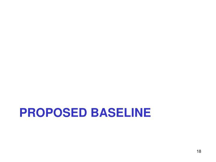 Proposed BASELINE
