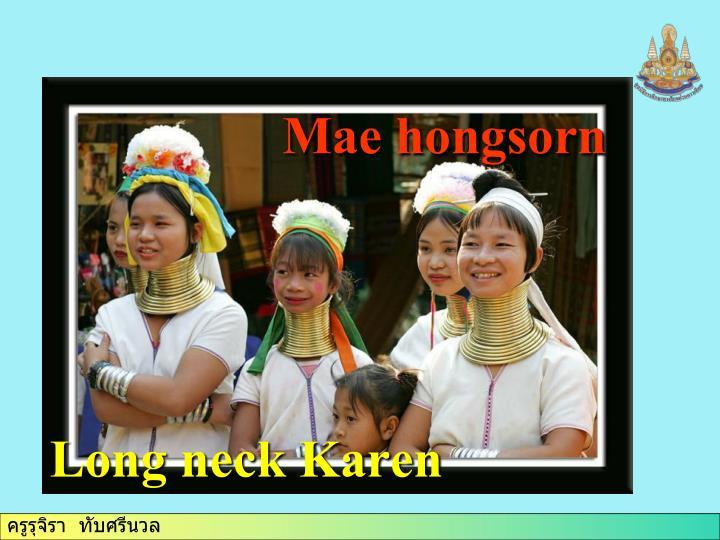 Mae hongsorn
