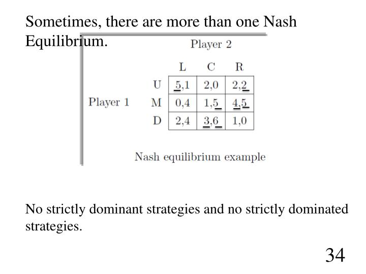 relationship between nash equilibrium dominant strategy prisoners