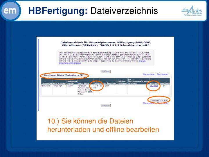 HBFertigung: