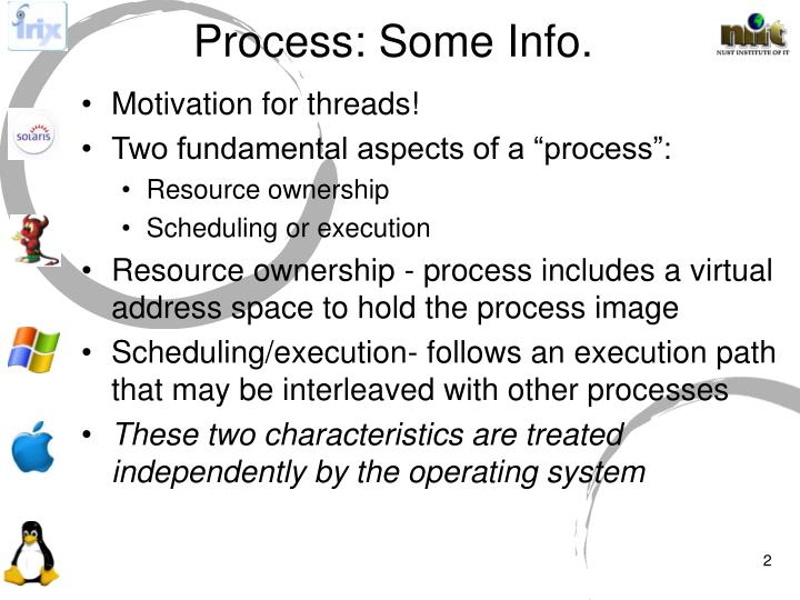Process: Some Info.