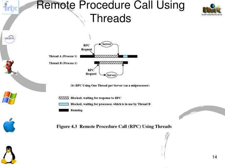 Remote Procedure Call Using Threads