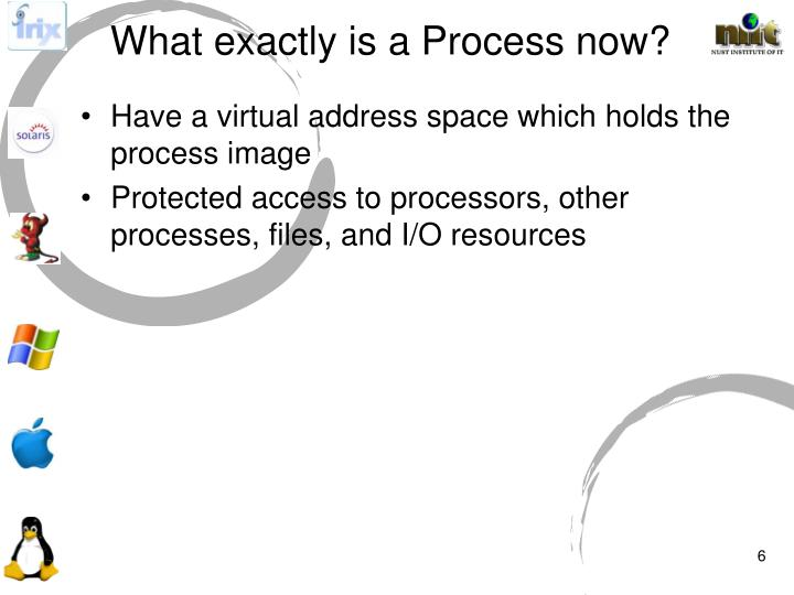 What exactly is a Process now?