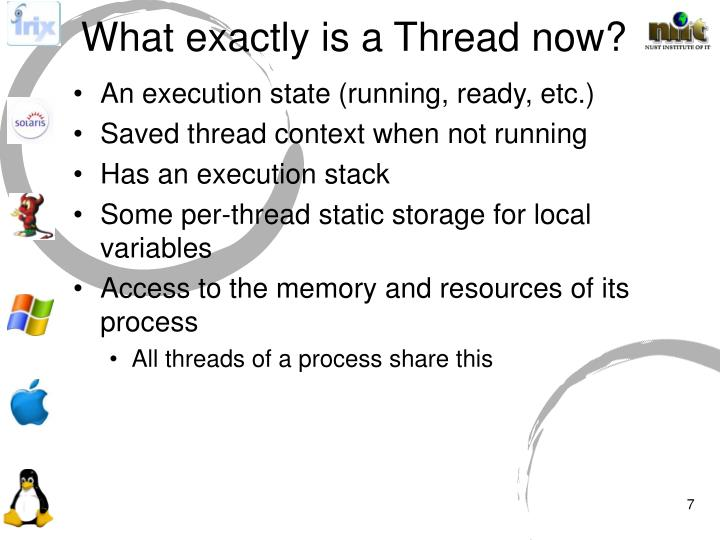 What exactly is a Thread now?