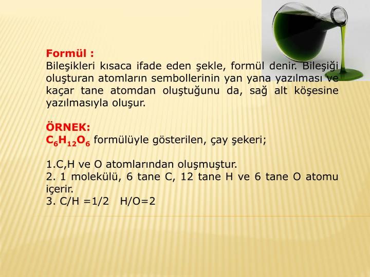 Formül