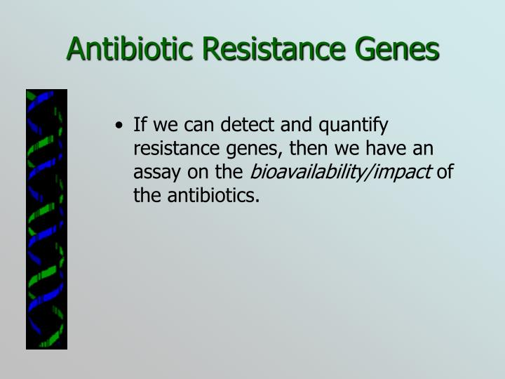 Antibiotic Resistance Genes