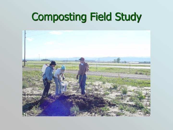 Composting Field Study