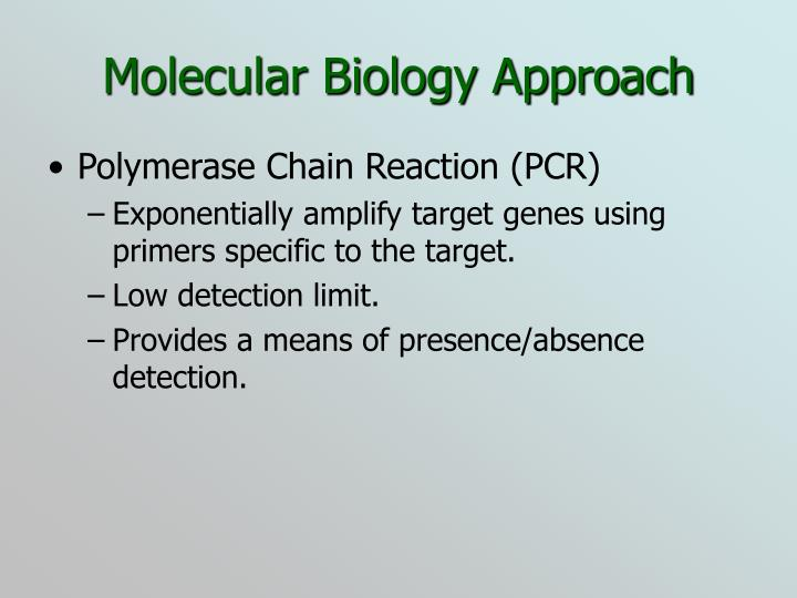 Molecular Biology Approach