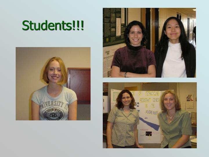 Students!!!