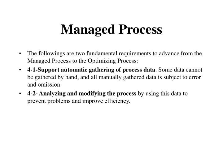 Managed Process