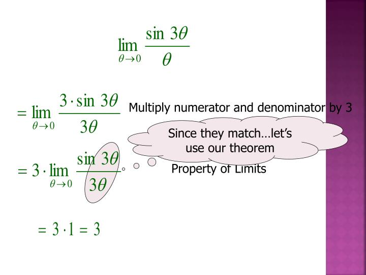 Multiply numerator and denominator by 3