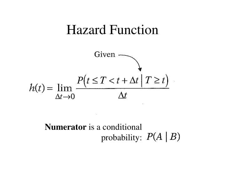 Hazard Function