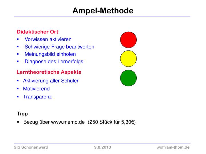 Ampel-Methode