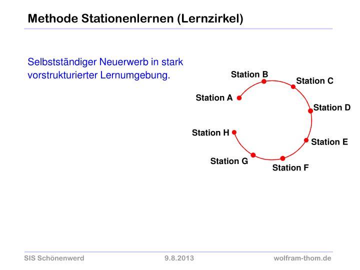 Station B