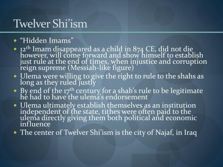 Twelver Shi'ism