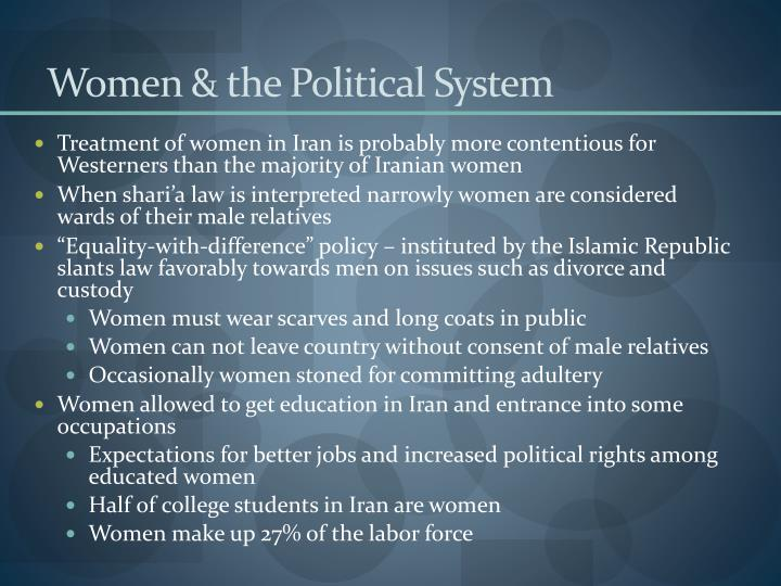 Women & the Political System