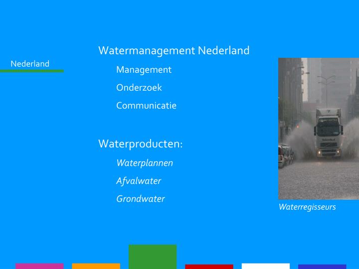 Watermanagement Nederland