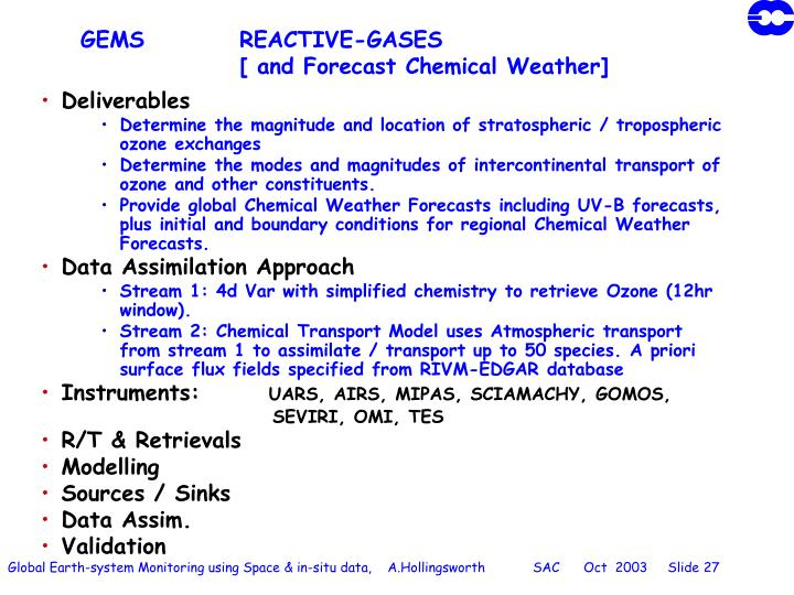 GEMS		REACTIVE-GASES