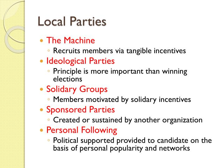 the political machine is a organization that recruits its members through the use of