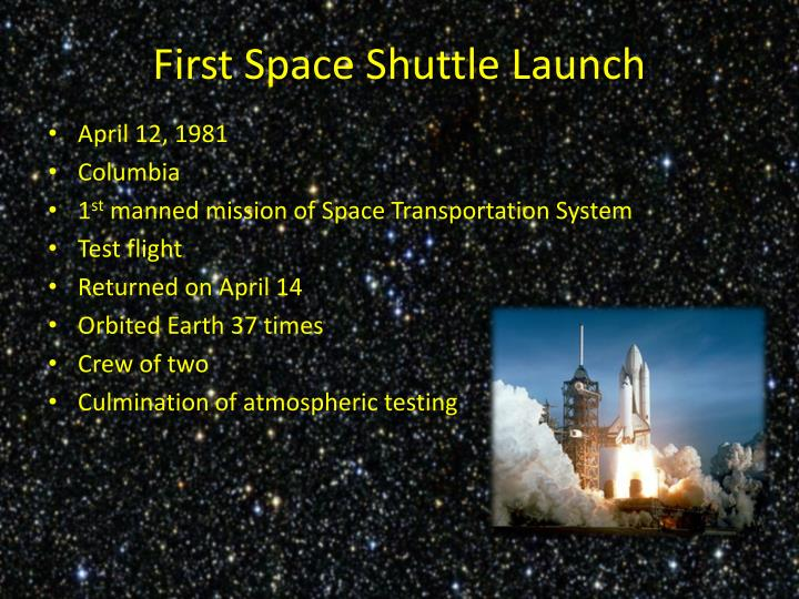 space shuttle columbia april 12 1981 - photo #35