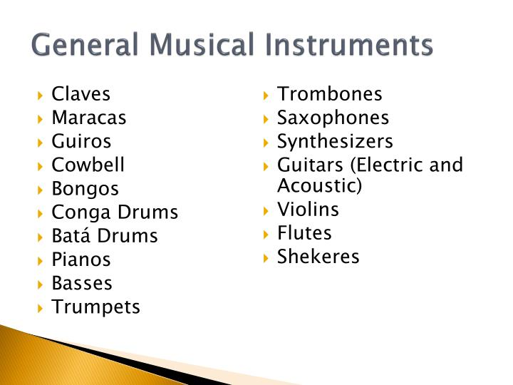 General Musical Instruments