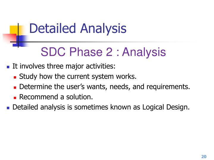 Detailed Analysis