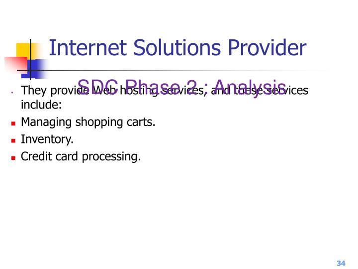 Internet Solutions Provider