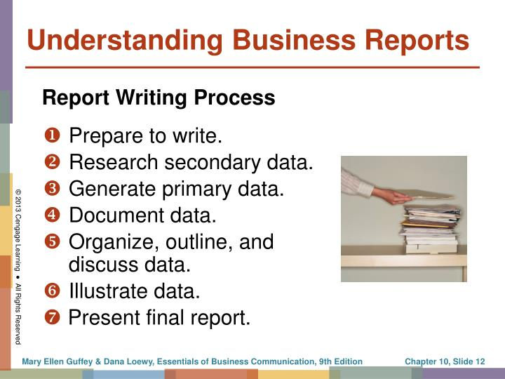Understanding Business Reports