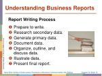 understanding business reports1