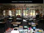classroom 5 8 view from teacher s desk