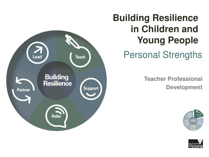 Building Resilience in Children and Young People