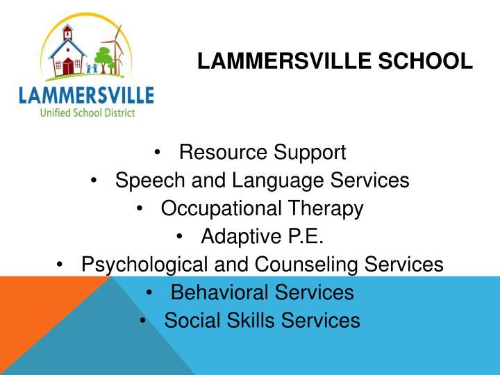 Lammersville