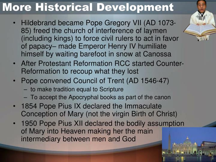 More Historical Development