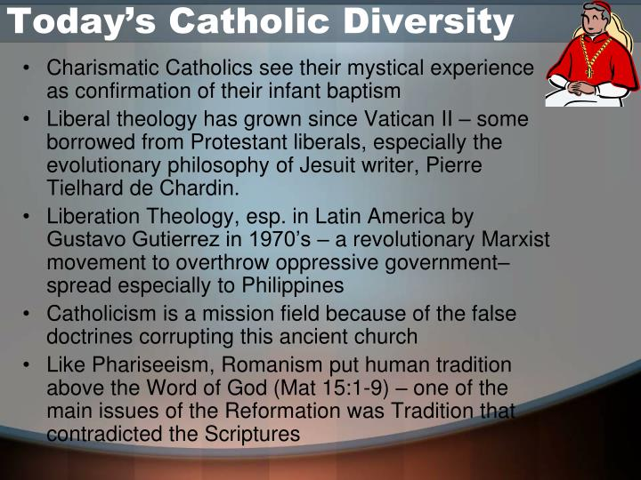 Today's Catholic Diversity