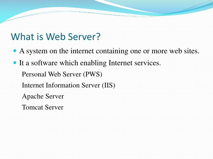 What is Web Server?