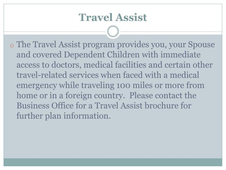 Travel Assist