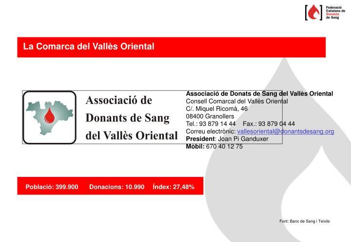 La Comarca del Vallès Oriental