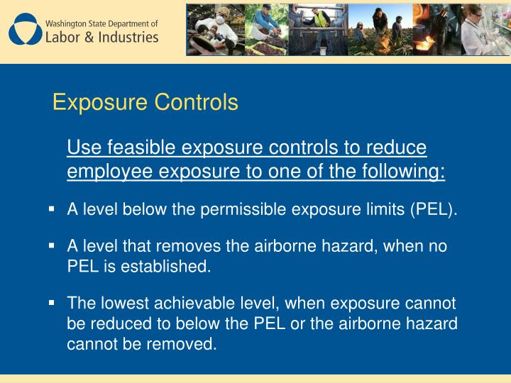 Exposure Controls