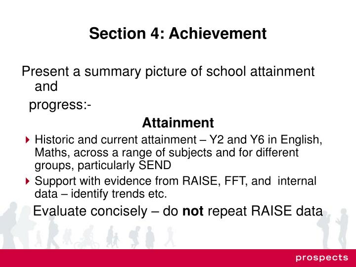 Section 4: Achievement