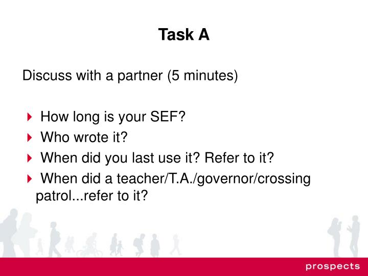 Task A