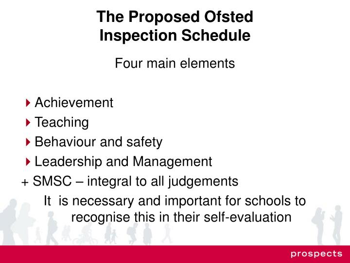 The Proposed Ofsted