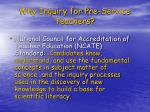 why inquiry for pre service teachers2