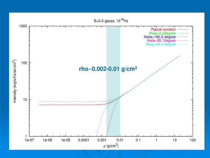 rho~0.002-0.01 g/cm