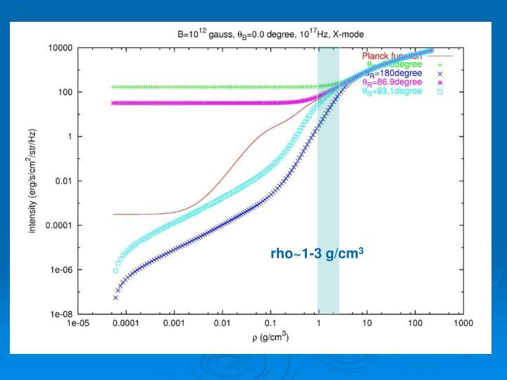 rho~1-3 g/cm
