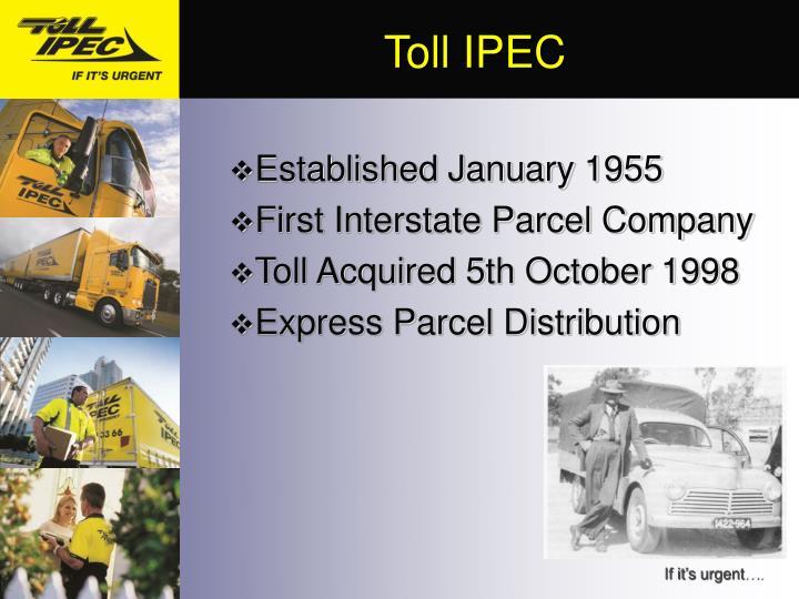 Toll IPEC