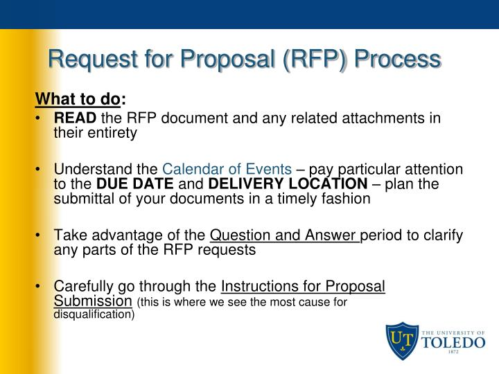 Request for Proposal (RFP) Process