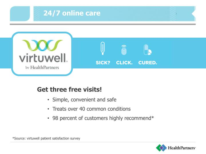 24/7 online care