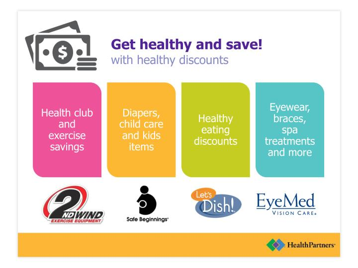 Get healthy and save!